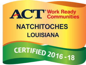 The ACT Certified Work Ready Communities Badge is the trademark of ACT, Inc