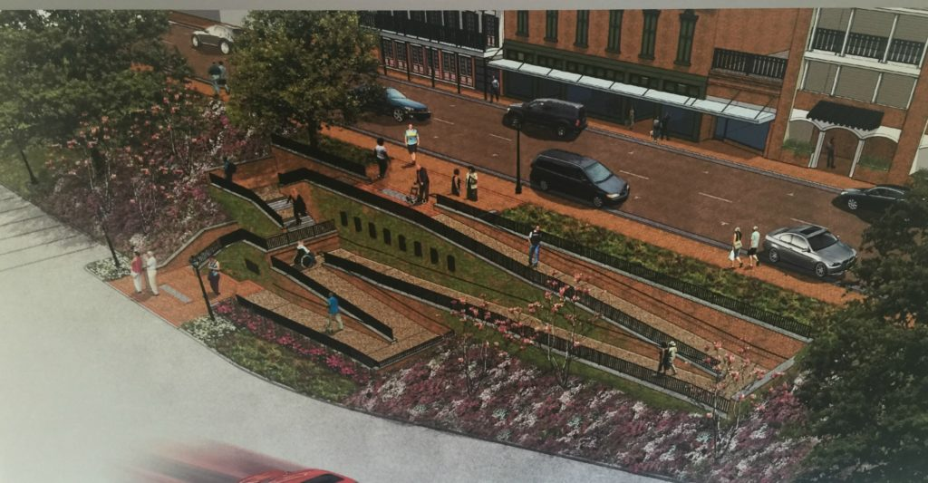 Downtown Natchitoches Riverbank Project Enhancement