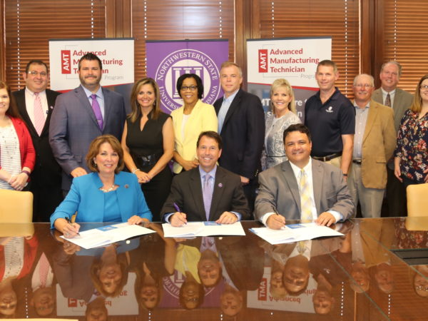 Advanced Manufacturing Technician Program Signing Day